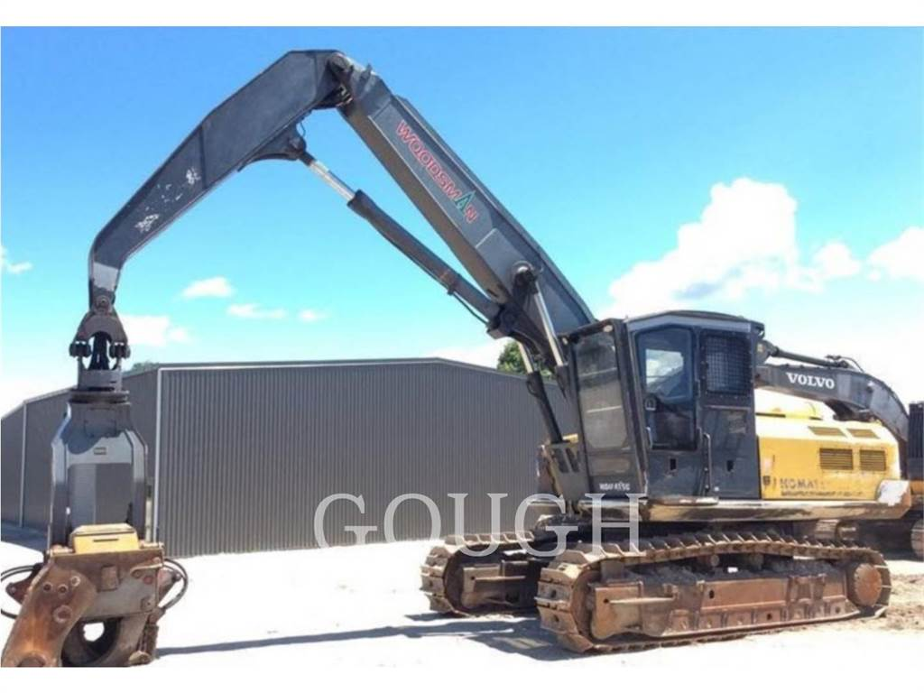 Komatsu PC400LC-8, Crawler Excavators, Construction