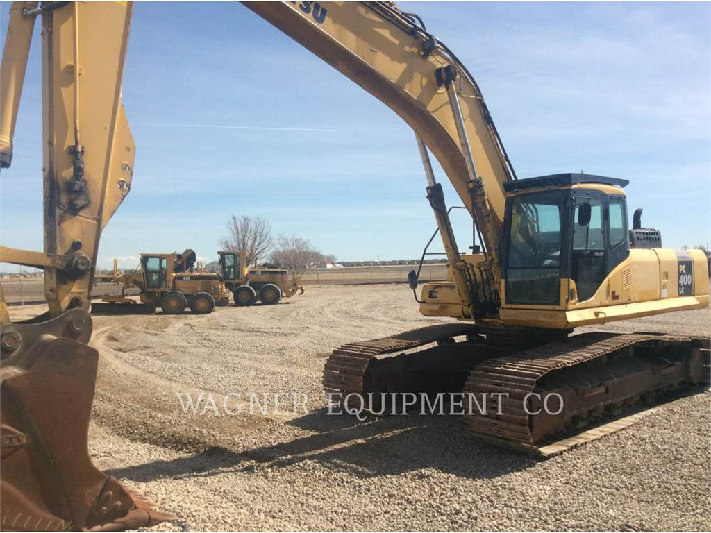 Komatsu PC400LC7L, Crawler Excavators, Construction