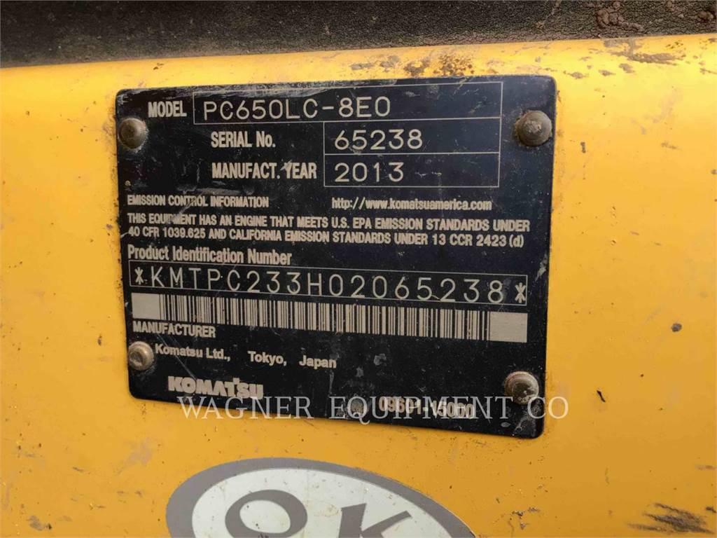 Komatsu PC650LC-8, Crawler Excavators, Construction