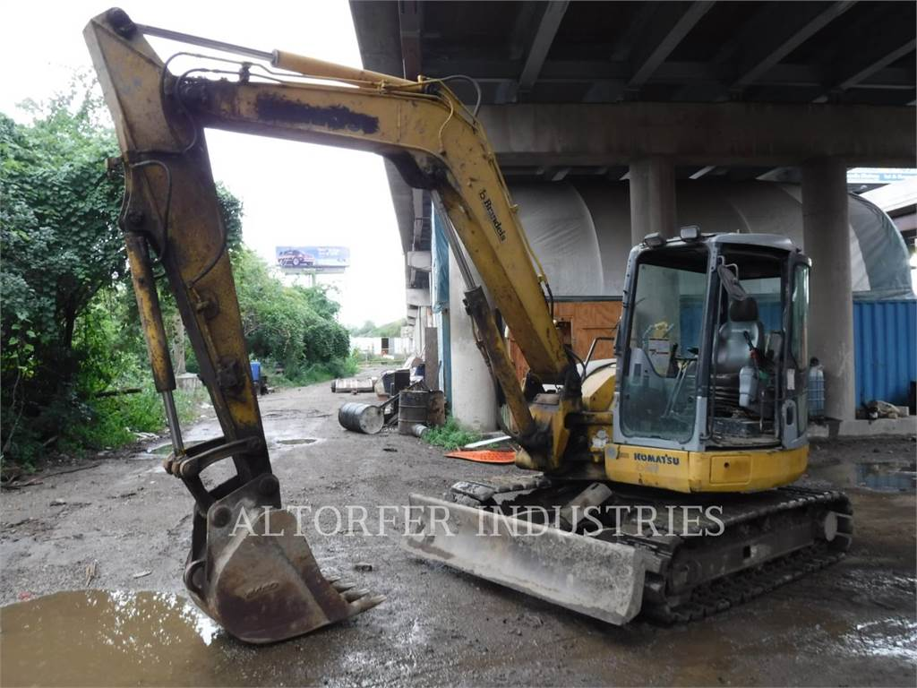 Komatsu PC78MR, Crawler Excavators, Construction