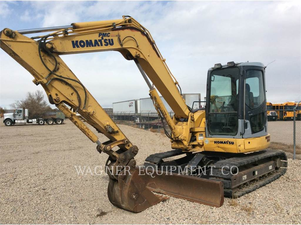 Komatsu PC78MR-6, Crawler Excavators, Construction