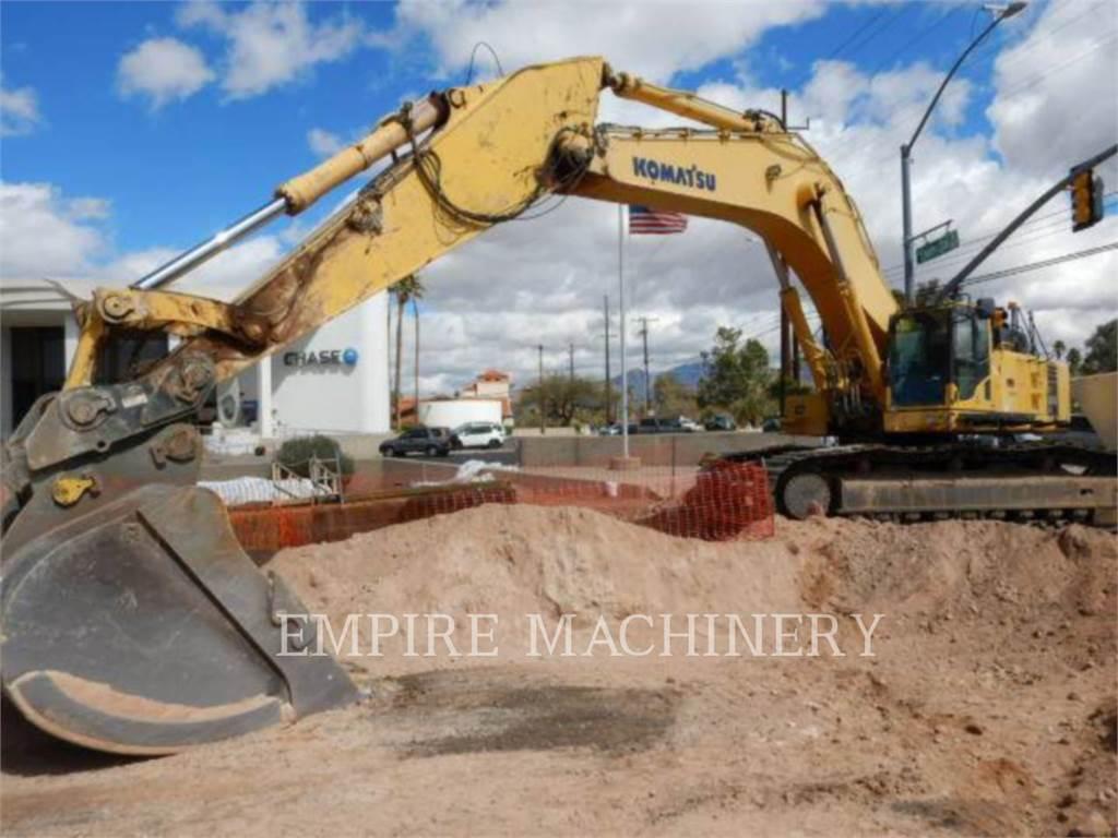 Komatsu PC800LC-8, Crawler Excavators, Construction