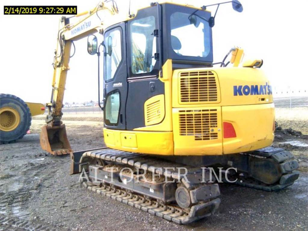 Komatsu PC88MR-10, Crawler Excavators, Construction