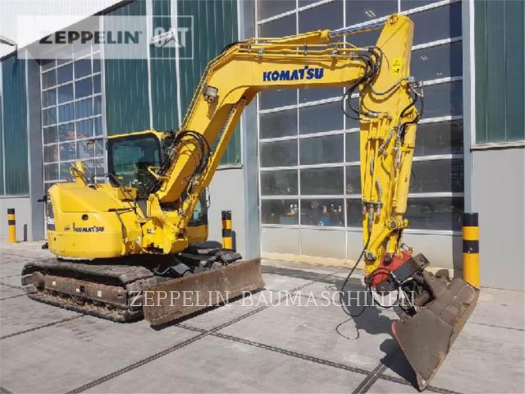 Komatsu PC88MR-8, Crawler Excavators, Construction