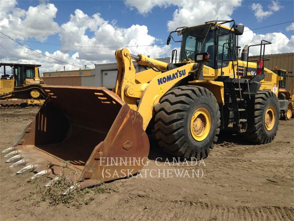 Komatsu WA 500, Wheel Loaders, Construction