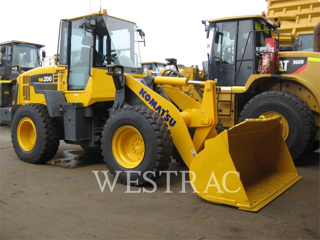 Komatsu WA200.5, Wheel Loaders, Construction