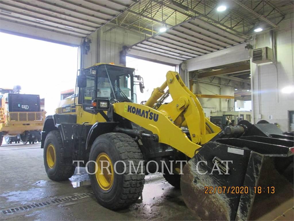 Komatsu WA320, Wheel Loaders, Construction