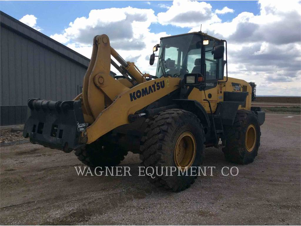 Komatsu WA320-7, Wheel Loaders, Construction