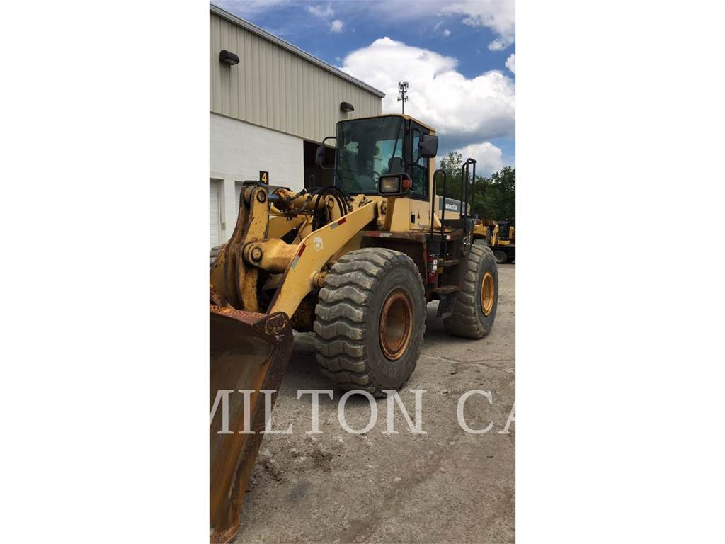 Komatsu WA380, Wheel Loaders, Construction