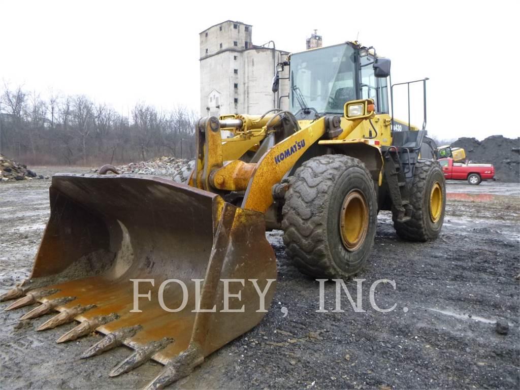 Komatsu WA430-6, Wheel Loaders, Construction