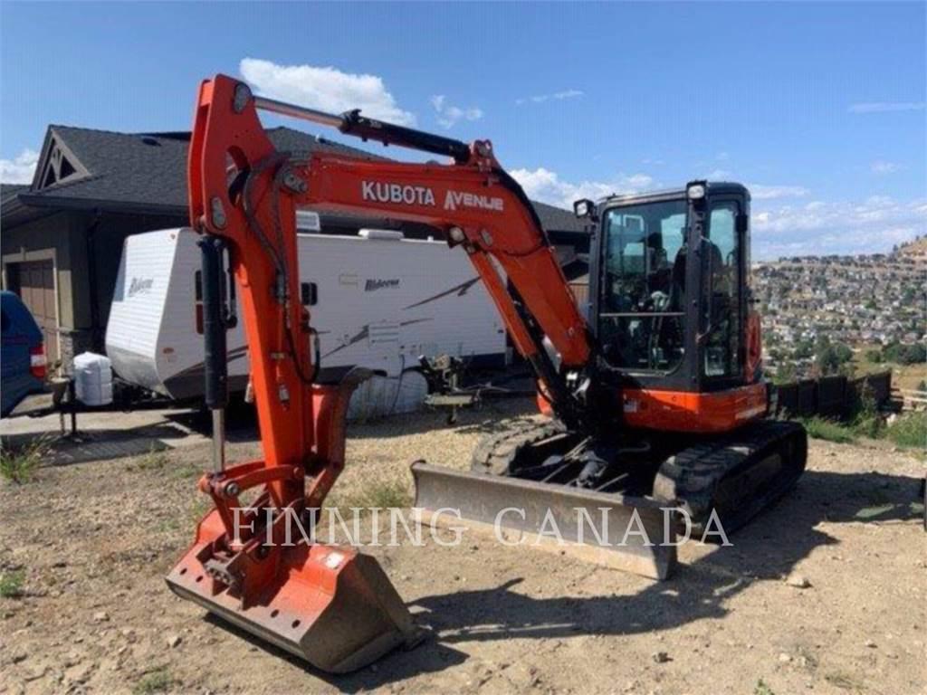 Kubota CANADA LTD. U55-4, Crawler Excavators, Construction