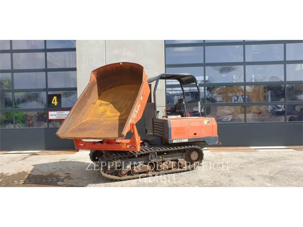 Kubota KC250, track loaders, Construction