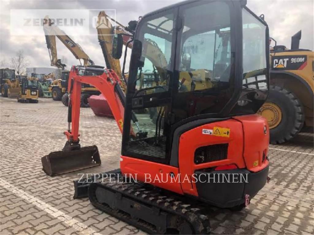 Kubota KX018-4, Crawler Excavators, Construction
