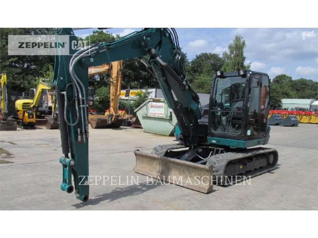 Kubota KX080-4, Crawler Excavators, Construction