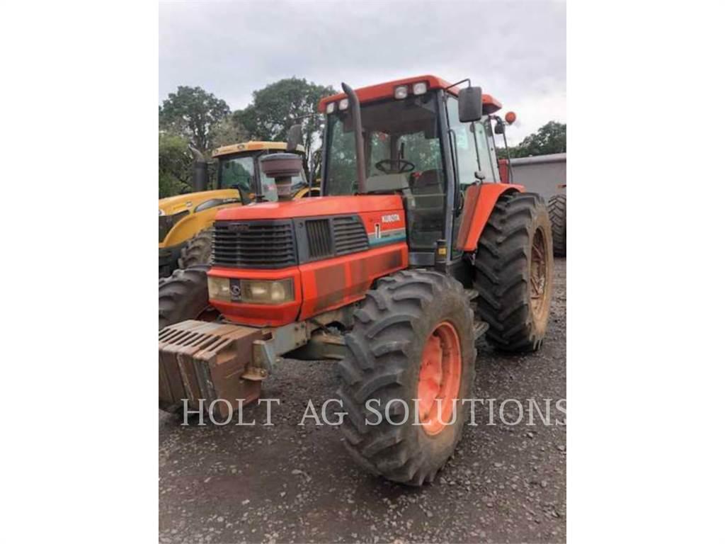 Kubota M120DT, tracteurs agricoles, Agricole