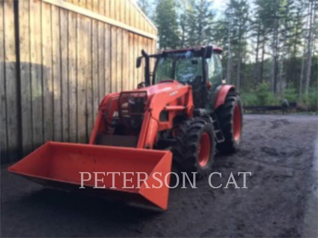 Kubota M135GX, tratores agrícolas, Agricultura