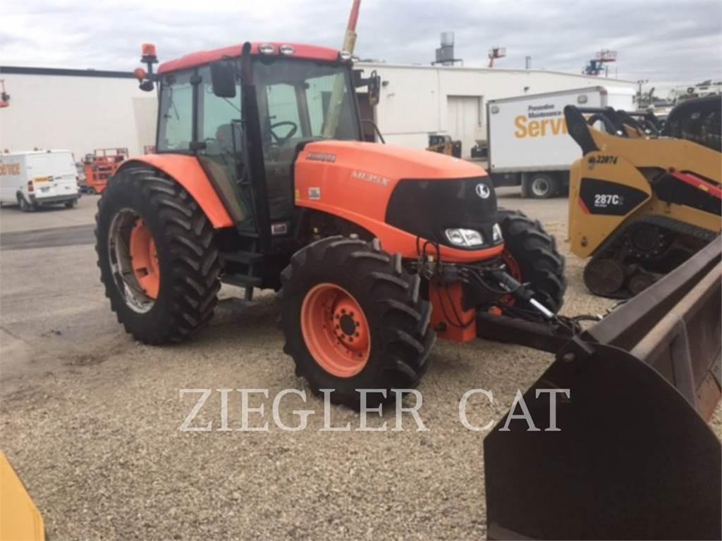 Kubota M135XDTC, tractors, Agriculture