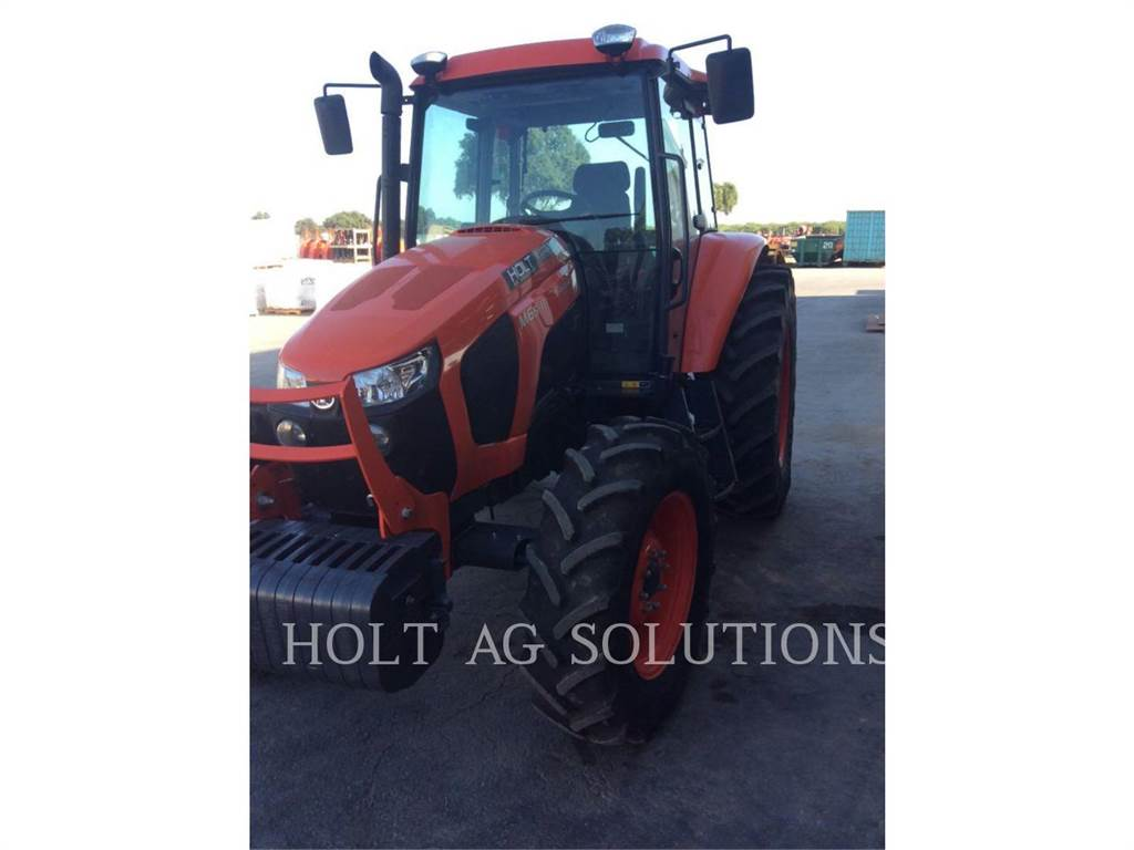 Kubota M6S-111DTC, tractores agrícolas, Agricultura