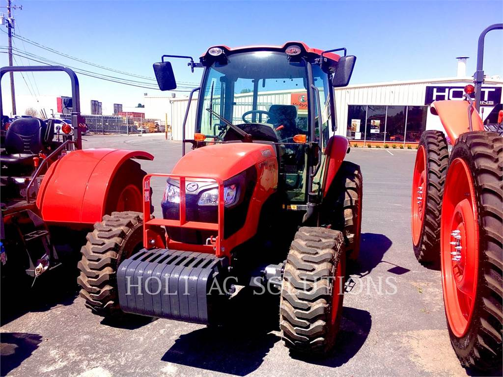 Kubota M7060HDC12, landwirtschaftstraktoren, Landmaschinen