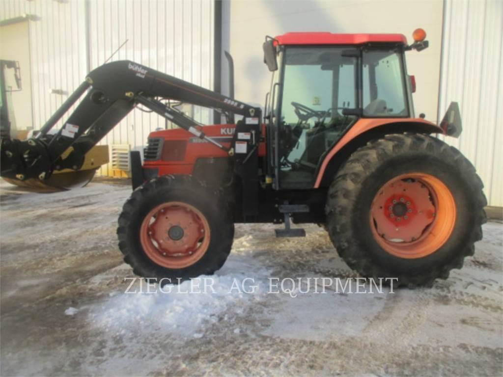 Kubota M9000, tratores agrícolas, Agricultura