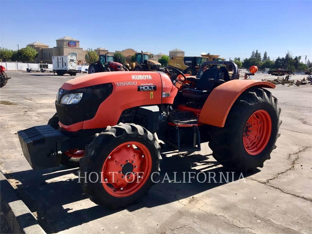 Kubota M9960, tractors, Agriculture