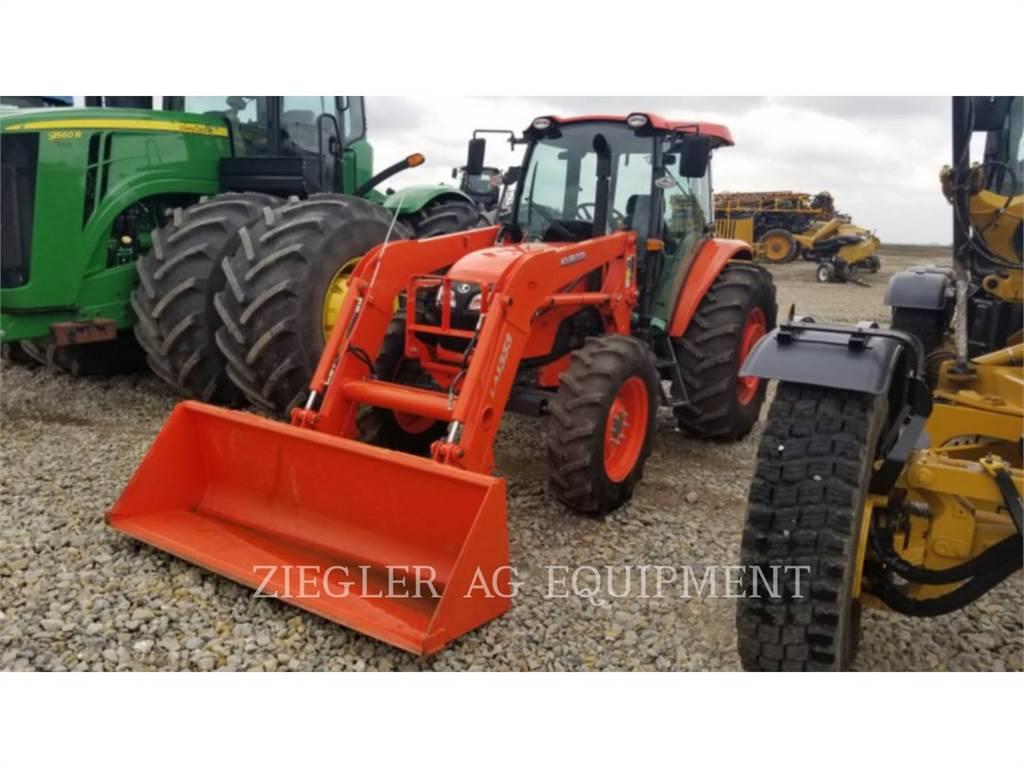 Kubota M9960D, tratores agrícolas, Agricultura