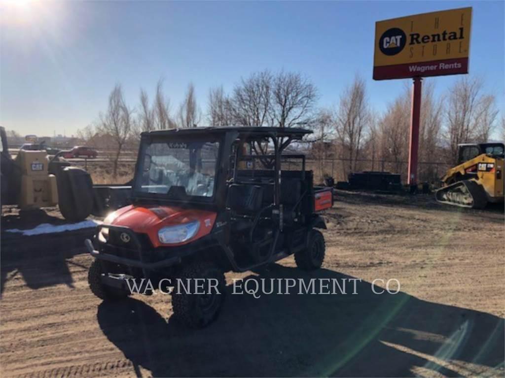 Kubota MANUFACTURING OF AMERICA RTV-X1140, utility vehicles / carts, Grounds Care