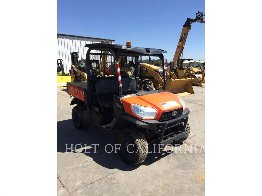 Kubota RTVX900G-H, utility vehicles / carts, Grounds Care