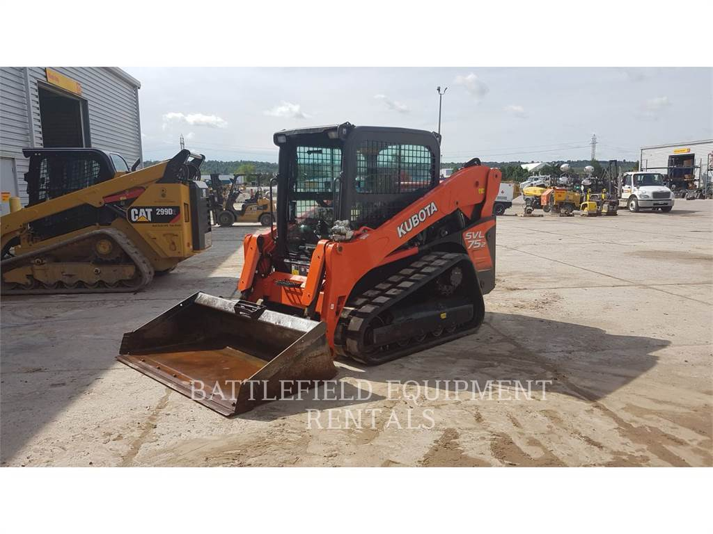 Kubota SVL 75-2, track loaders, Construction