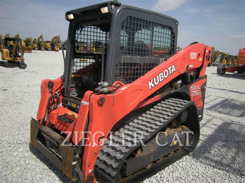 Kubota SVL75-2, Chargeuse compacte, Équipement De Construction