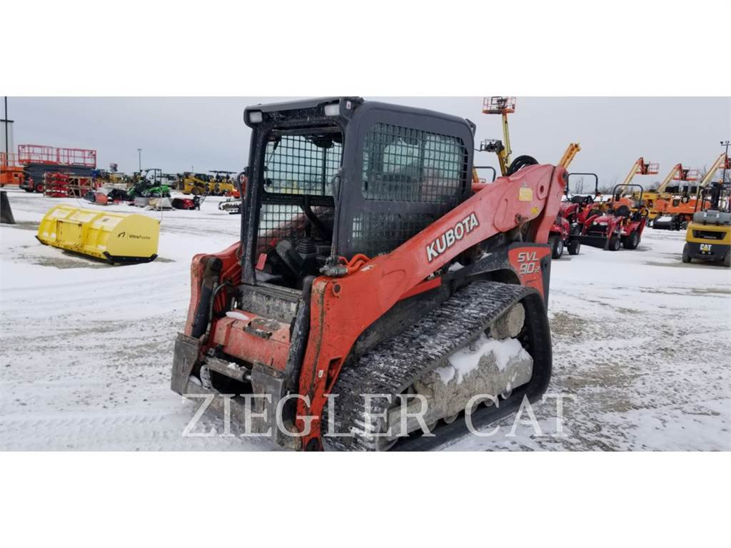 Kubota SVL90-2, Skid Steer Loaders, Construction
