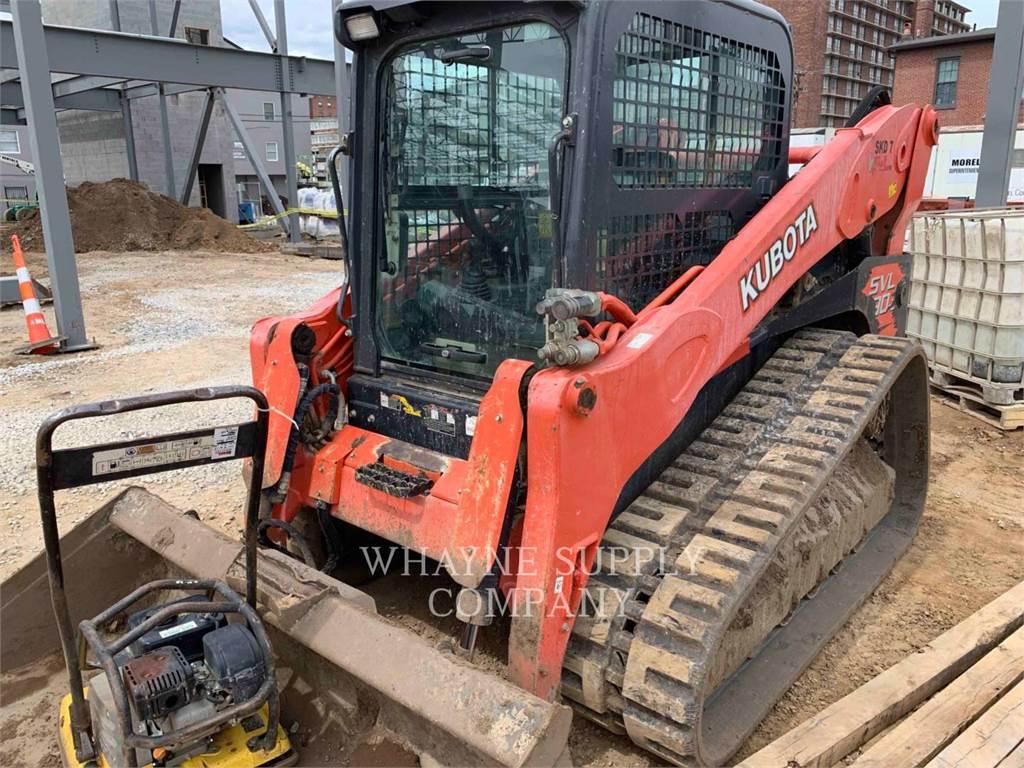 Kubota SVL902, Skid Steer Loaders, Construction