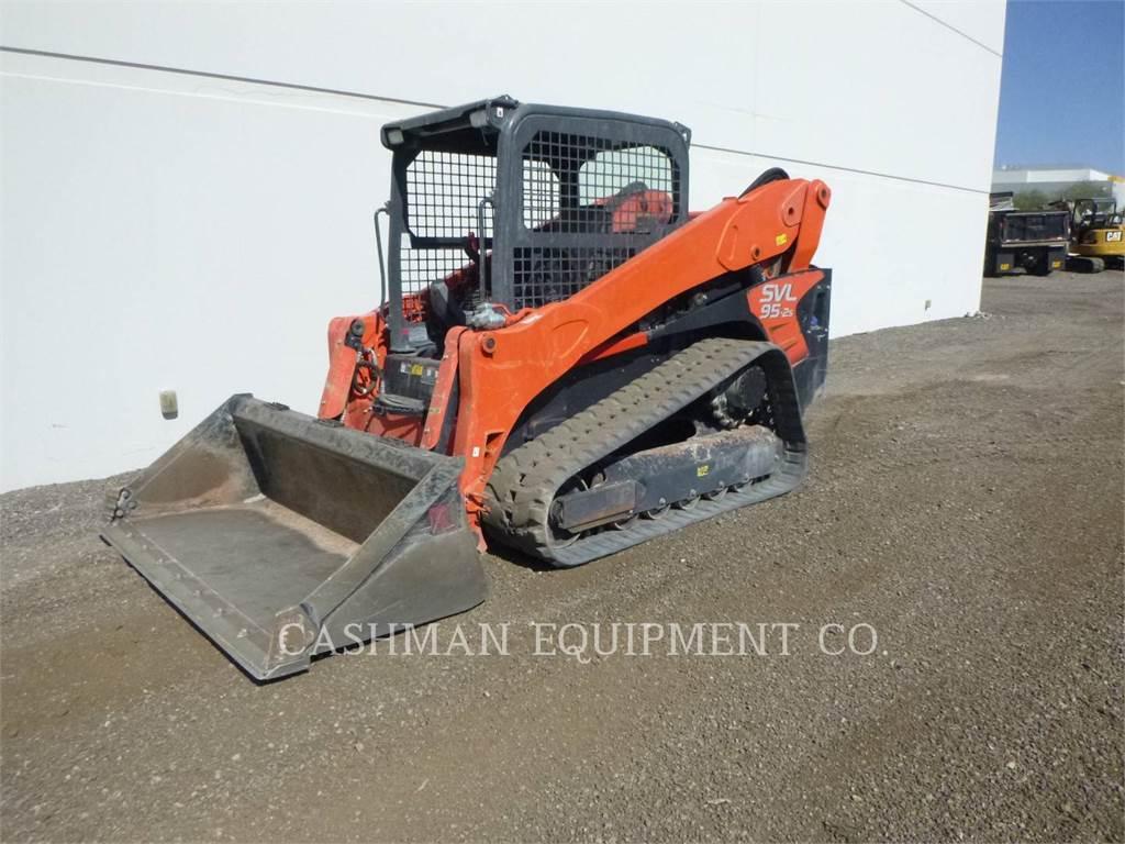 Kubota SVL95.2S, track loaders, Construction