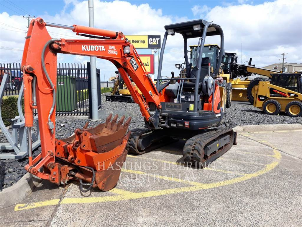 Kubota U25-3, Crawler Excavators, Construction