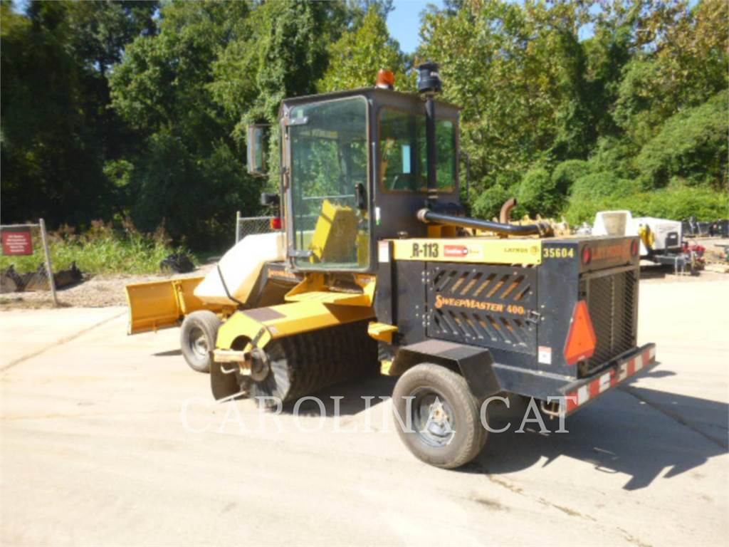 Lay-Mor SM400, road brooms, Grounds Care