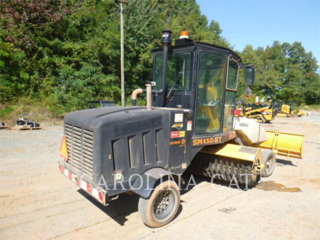 Lay-Mor SM450, road brooms, Grounds Care
