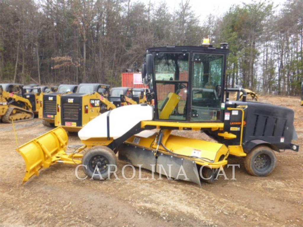 Lay-Mor SM450-ST, vassouras de estrada, Tratamento de solos