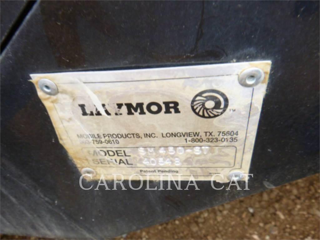 Lay-Mor SM450-ST, mături rutiere, Masini speciale