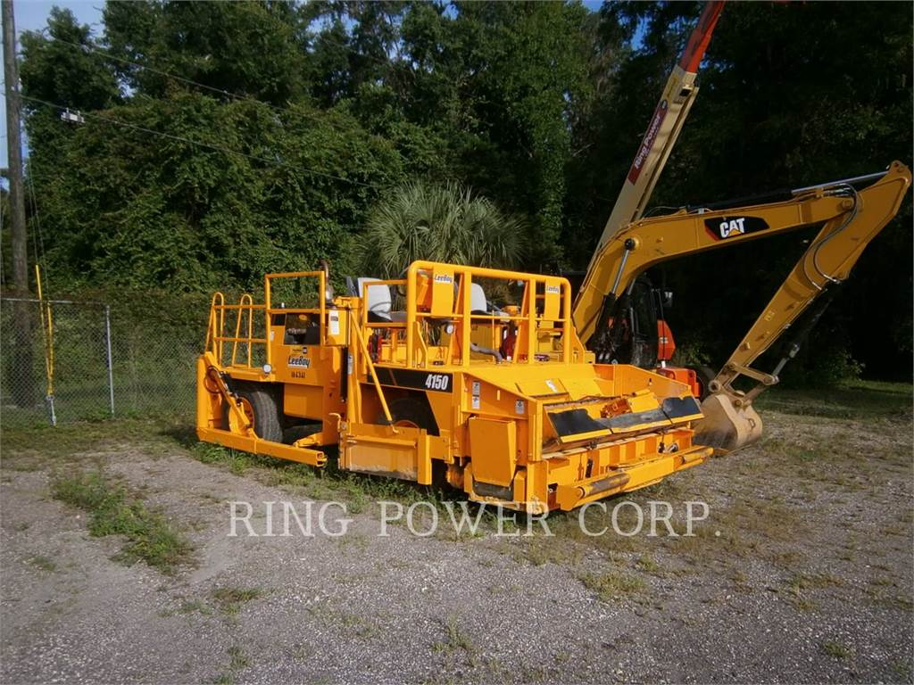 LeeBoy 4150, stabilizers / reclaimers, Construction