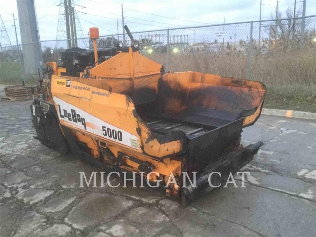 LeeBoy 5000 PMAST, Asphalt pavers, Construction