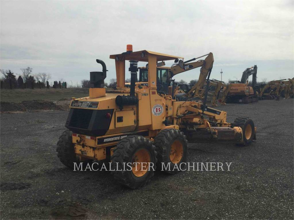 LeeBoy 685 B, niveleuses pour mines, Équipement De Construction