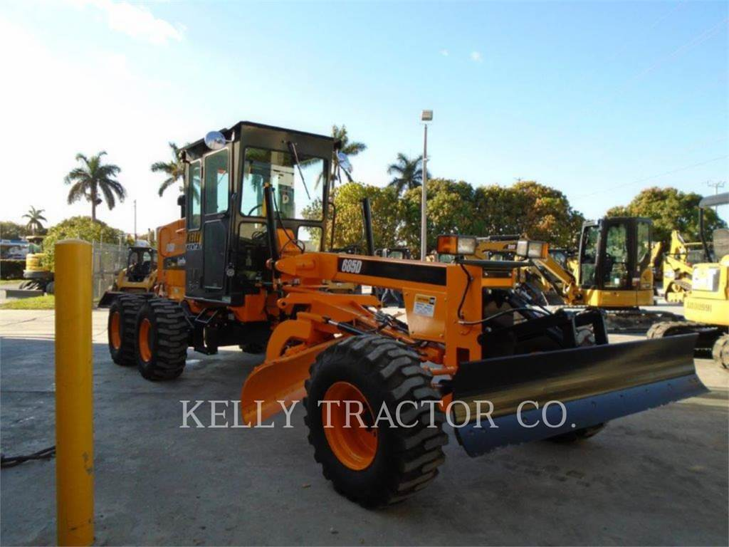 LeeBoy 685 D, motor graders, Construction