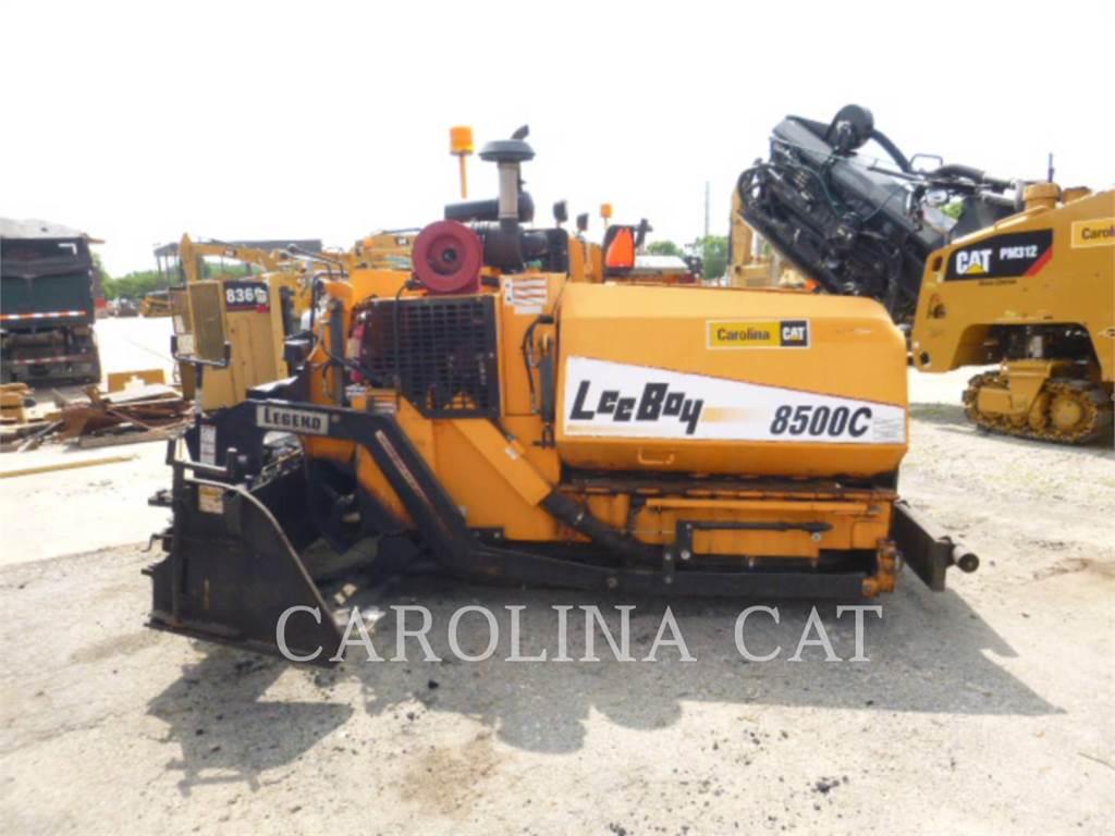 LeeBoy 8500C, Strassenfertiger, Bau-Und Bergbauausrüstung