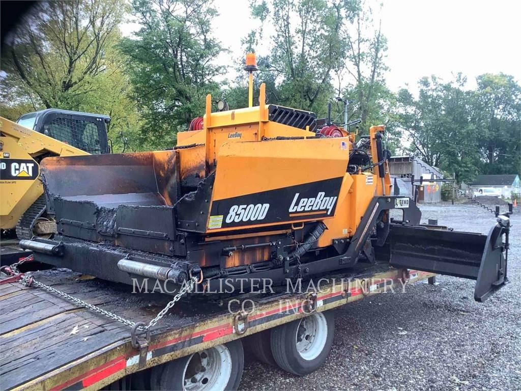 LeeBoy 8500D, Pavatoare asfalt, Constructii