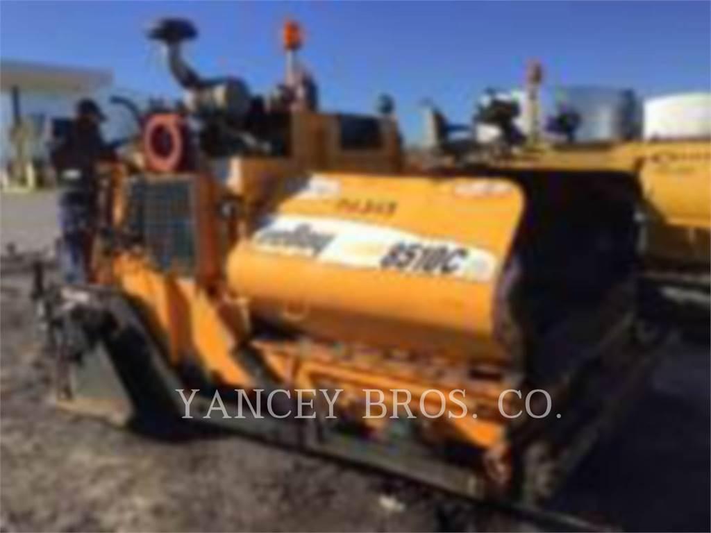 LeeBoy 8510C, Asphalt pavers, Construction