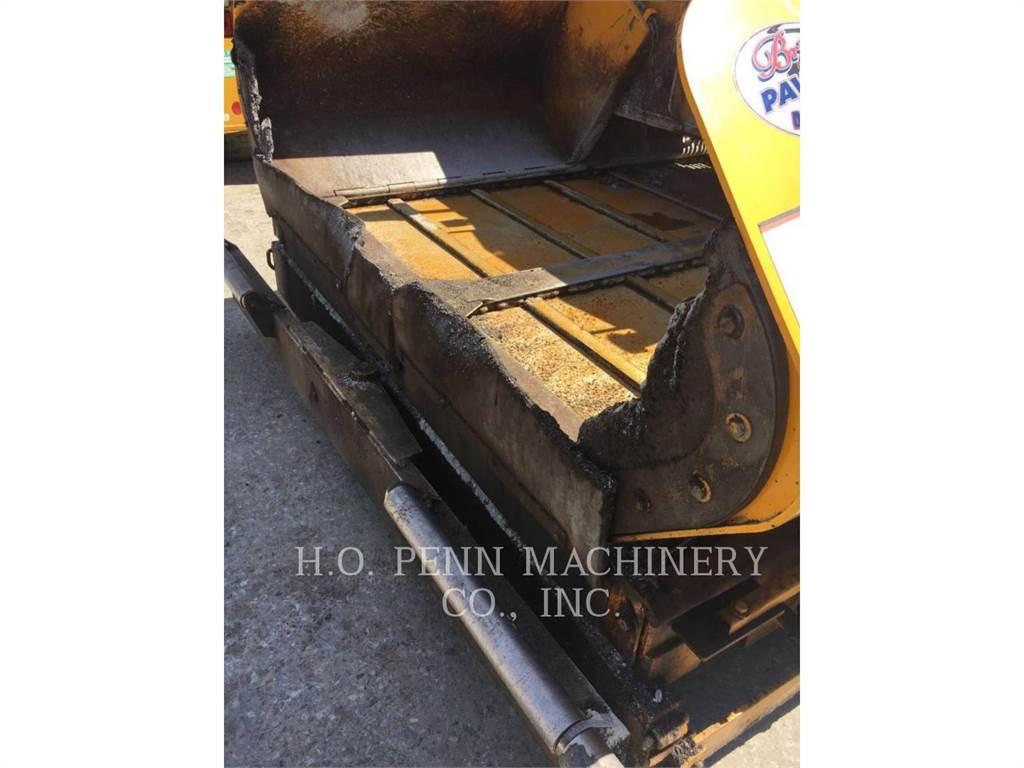 LeeBoy 8515, Asphalt pavers, Construction