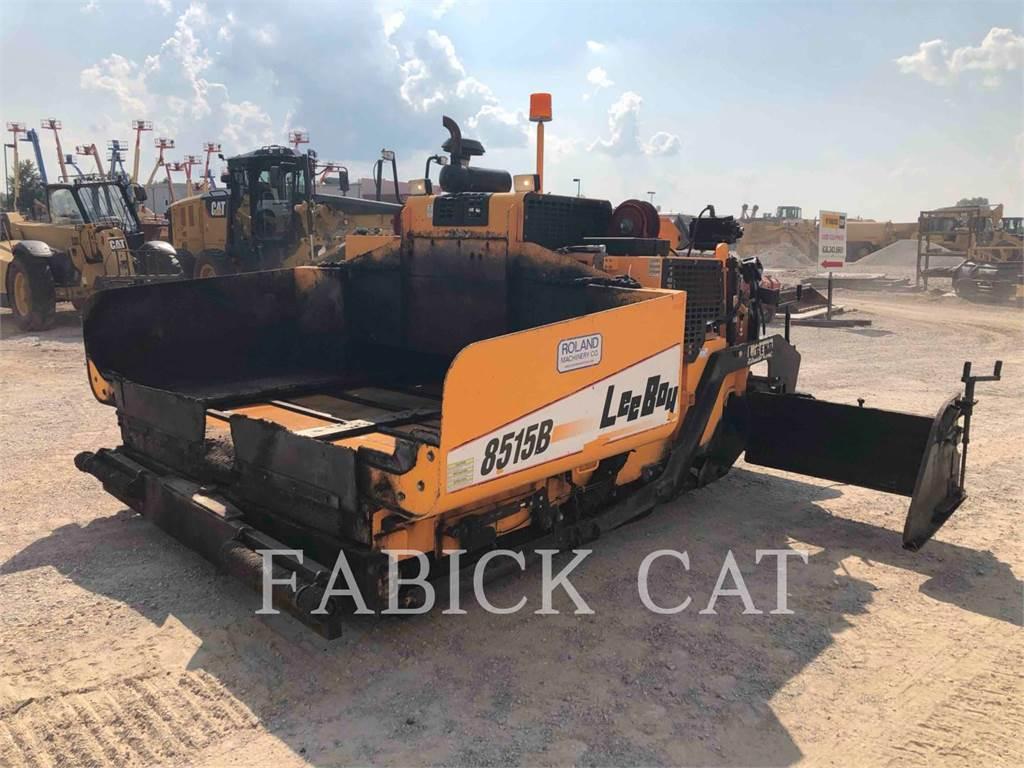 LeeBoy 8515B, Asphalt pavers, Construction