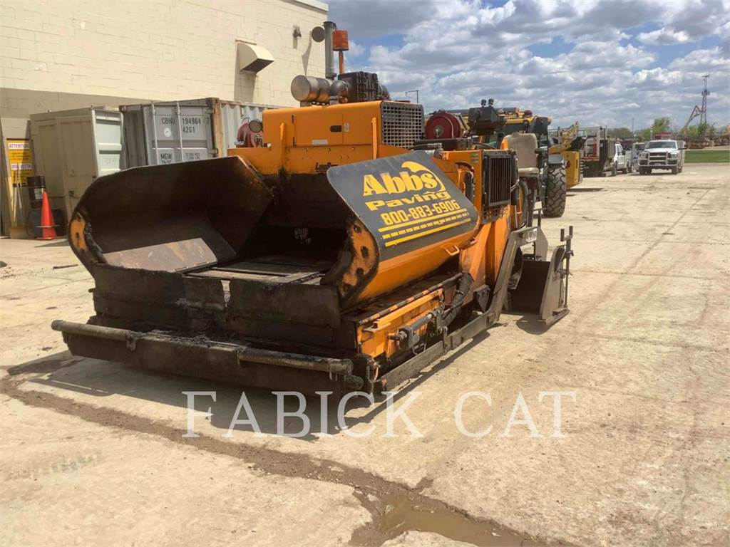 LeeBoy 8515C, Asphalt pavers, Construction
