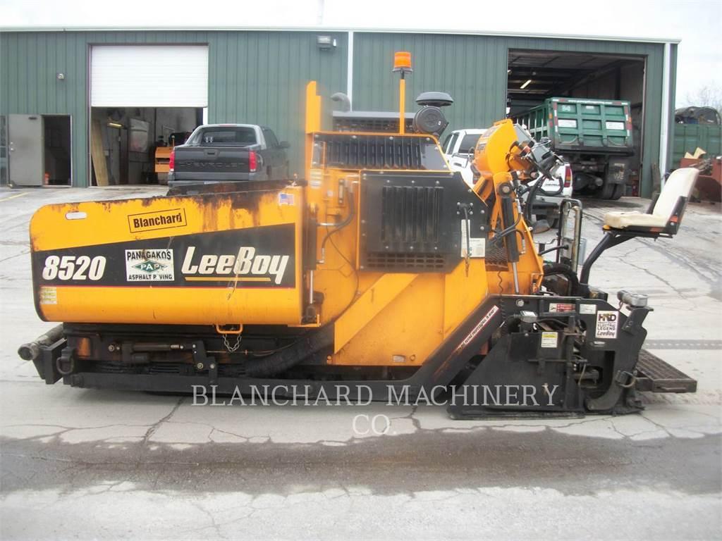LeeBoy 8520, Pavatoare asfalt, Constructii