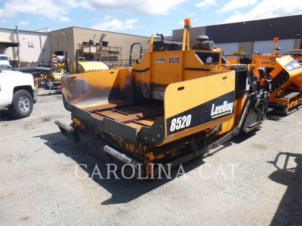 LeeBoy 8520, Finisseur, Équipement De Construction